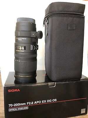 Sigma 70-200mm f/2.8 EX DG APO OS HSM for Canon with Warranty