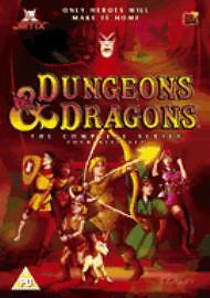 Dungeons and Dragons - Complete Four Series Animated Boxset (DVD, 2004)