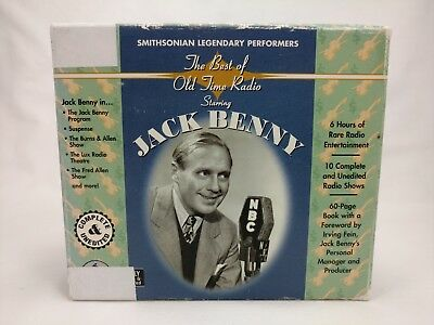Smithsonian Collection The Best of Old-Time Radio Starring Jack Benny  CD