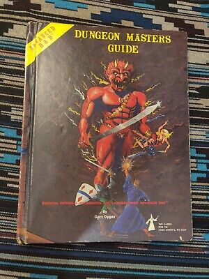 THE DUNGEON MASTER Guide, No  2100, 2nd Edition (Advanced Dungeons
