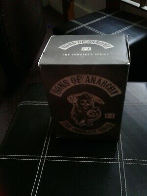Sons of Anarchy: The Complete Series dvd boxed set.