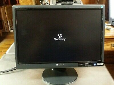 19 Gateway FPD1975W Widescreen LCD Computer Monitor 900W