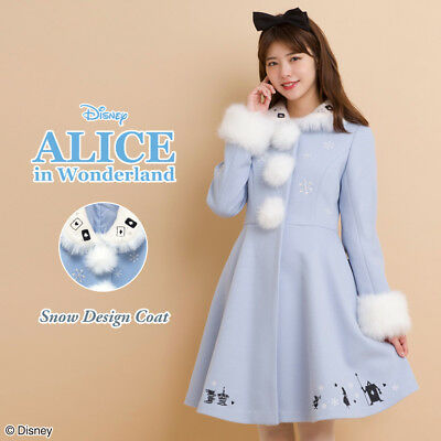 Disney  Alice in Wonderland Coat  for Woman Japan secret honey