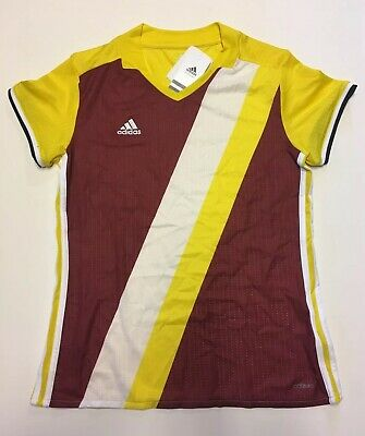 Small NEW 7735W Adidas Women's Cap Sleeve Climacool Volleyball Jersey Sz