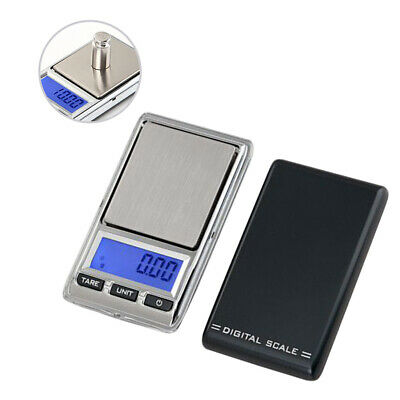 100/200/500g 0.01g Digital Pocket Scales Jewellery Electronic milligram micro mg