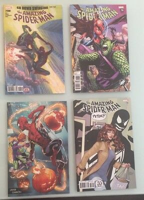 Spider-Man 798 4 Covers Ross Ramos Venom Young Guns 1st Red Goblin CGC CBCS It!