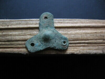 Triskelion Form Amulet Ancient Celtic Bronze Magic Talisman 300-100 B.c