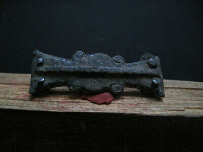 4 Evil Eyes Ancient Celtic Bronze Warriors Belt Decoration 300-100 B.c.