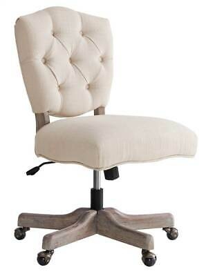 Kelsey White Office Chair in Gray [ID 3708282]