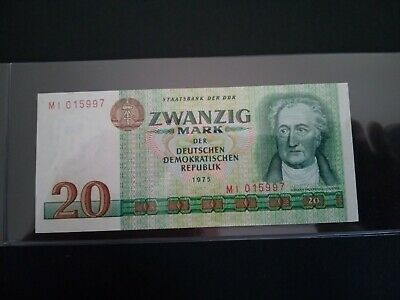 Banknote Germany 1975(au/UNC)20 deutchsmark.