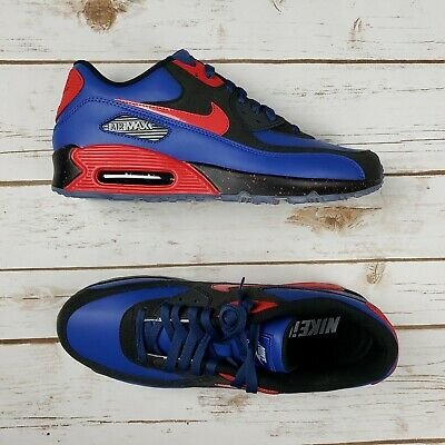 separation shoes 2cc02 1fb49 NIKE Men Air Max 90 ID Blk Blue Red 931902 994 - Sz 10.5 New