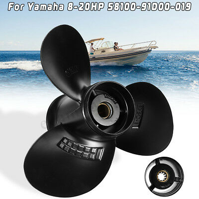 9 1/4 x 8 8-20HP Marine Ship Propeller For Suzuki Outboard Motor 58100-91D00-019