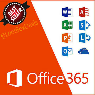 Microsoft Office 365 Lifetime Account 5x Devices