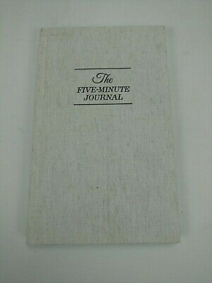 The Five Minute Journal: A Happier You in 5 Minutes a Day - Hardcover