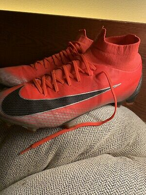 timeless design 91987 e9774 Nike Mercurial Superfly 6 Pro CR7 FG Men Soccer Cleats Bright Crimson  AJ3550 600