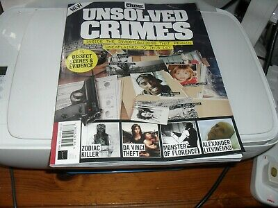 Real Crime Unsolved Crimes Fourth Edition New