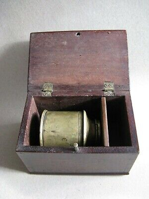 Antique Microscope,  field , boxed