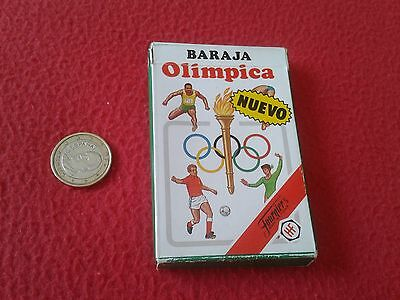 Escasa Baraja De Cartas Naipes Fournier Olimpica 1988 Ideal Colección.  Dificil