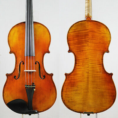 "Special offer!Copy Strad 16.5"" Viola, Warm Deep Tone,Aubert bridge!M5365"