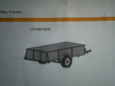 Car Trailer 4x8 Self build Plans