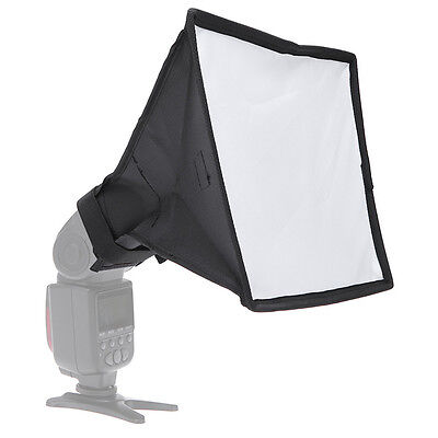 Universal Mini Portable Softbox Case Diffuser Speedlite Speedlight 20x30cm New