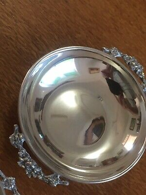 Sterling Silver Pair Salt Dishes