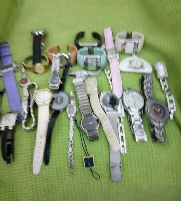 VINTAGE COLLECTION JOB LOT OF WRIST WATCHES x 25 MIXED