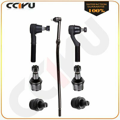 7piece Front Suspension Ball Joint Tie Rod Kit For 1992-1999 2000 2001 2002 Ford