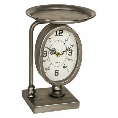 Beautifully Style Logan Shelf Clock Freestanding Table Mantel Clock - Pd Global