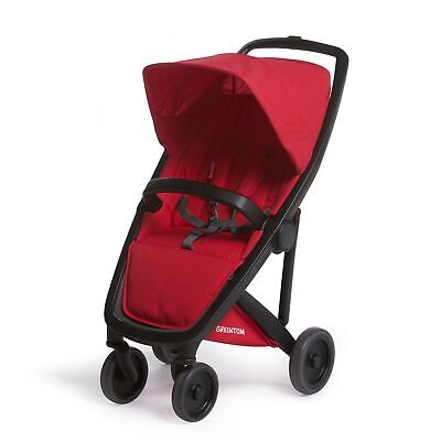 Classic Greentom UPP Lightweight Stroller, Adapters & Rain Cover Red