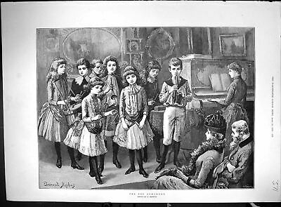 Old 1888 Toy Symphony Children Music Advertisement Mappin Webb Rowlan 19th