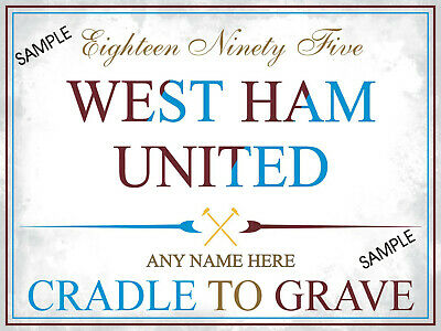 Personalised West Ham United Sign Football Programmes West Ham Fc Upton Park