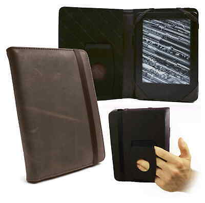 TUFF LUV Personalised Embrace Case for Kindle Touch 2014 / Voyage Leather -Brown