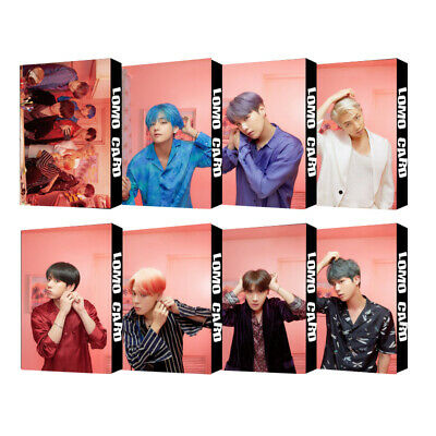 30pcs set Kpop BTS Member Map of The Soul: Persona LOMOCARDS Jimin Jin Lomo Card