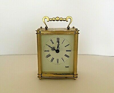 Vintage Smith's Astral Battery Operated Carriage Clock - Full Working Order