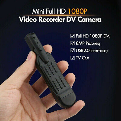 NEW Mini ActionCam  HD 1080P Video and Audio Recorder 16GB SD Card