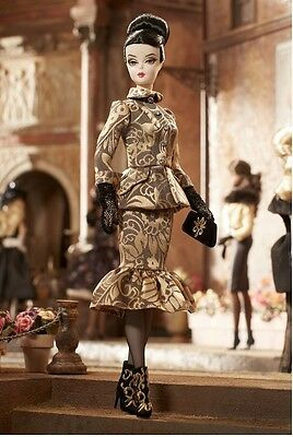 2014 Luciana Barbie Doll Gold Label Silkstone New in Box In Hand Only 6,000 Made