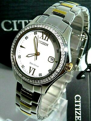 Citizen Eco Drive FE1144-85B Womens Quartz Stainless Steel Casual Watch