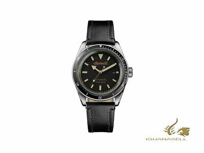 Ingersoll Scovill Automatic Watch - Black - Black strap - 43 mm - I05006