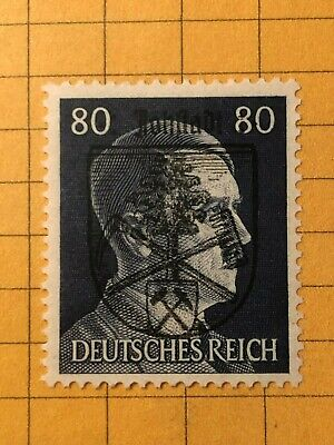 GERMANY (JOHSTADT) 1945 POST WWII-Local Issue 80 Rpf. MNH