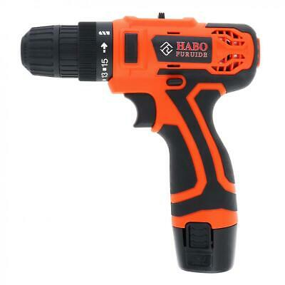 12V Cordless Screwdriver Electric Power Tool Drill Kit Rechargeable Screw Gun
