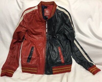 NWOT SUICIDE SQUAD Harley Quinn Mauritius Lambskin leather