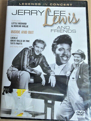 Jerry Lee Lewis And Friends - Inside Out (DVD, 2011)    NEW FACTORY SEALED