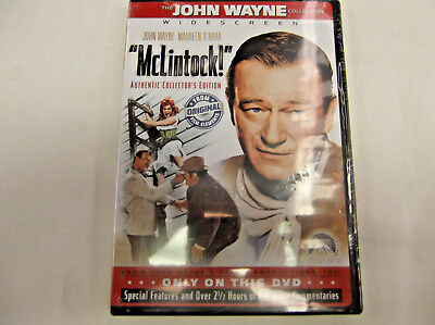 """""""Mclintock!"""" Authentic Collectors Edition DVD Brand New!!!"""