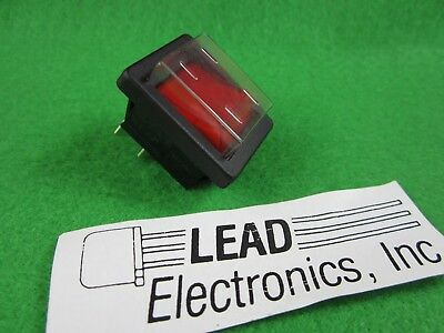 ARCO SWITCH C1353AA-RED  20-AMP 250-VAC PANEL MOUNT Red