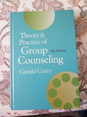 Theory and Practice of Group Counseling by Gerald Corey (Hardback, 2000)