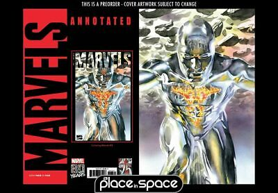 (Wk19) Marvels Annotated #3B - Alex Ross Virgin Variant - Preorder 8Th May