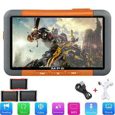 8GB 16GB 3'' 720P LCD Touch Screen MP3 MP4 MP5 Video Music Media Player FM Radio
