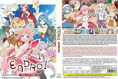 ANIME DVD~Endro~!(1-12End)English subtitle&All region FREE SHIPPING+GIFT