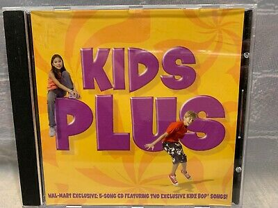Kids Plus Wal-Mart Exclusive 5 Song CD Featuring Two Exclusive Kidz Bop Songs CD